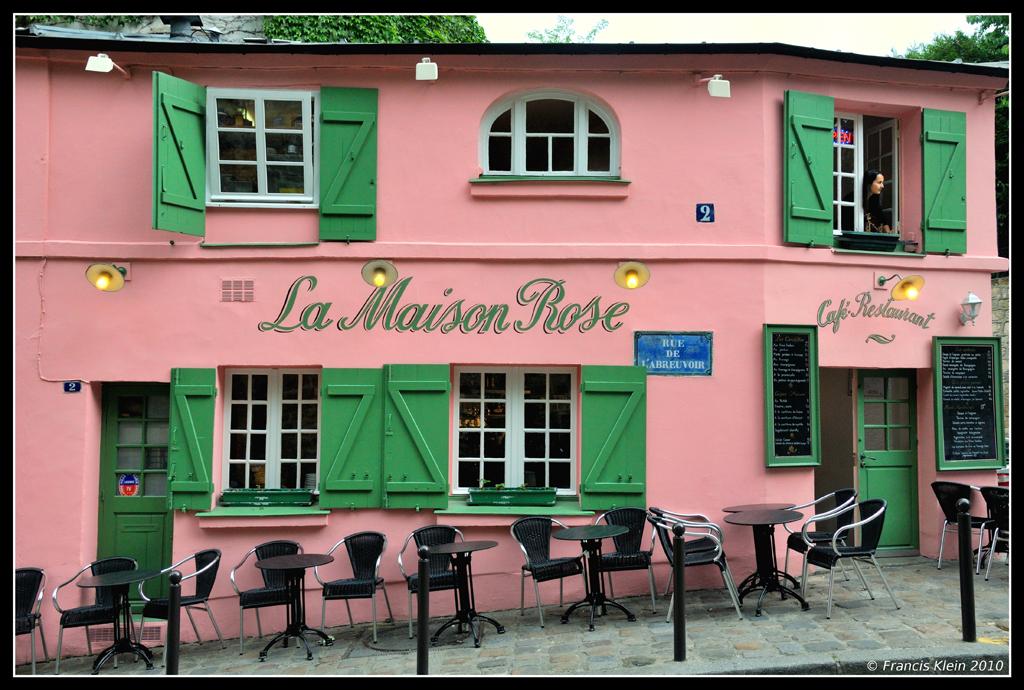 La maison rose la maison rose rue de l 39 abreuvoir for La maison rose lourmarin