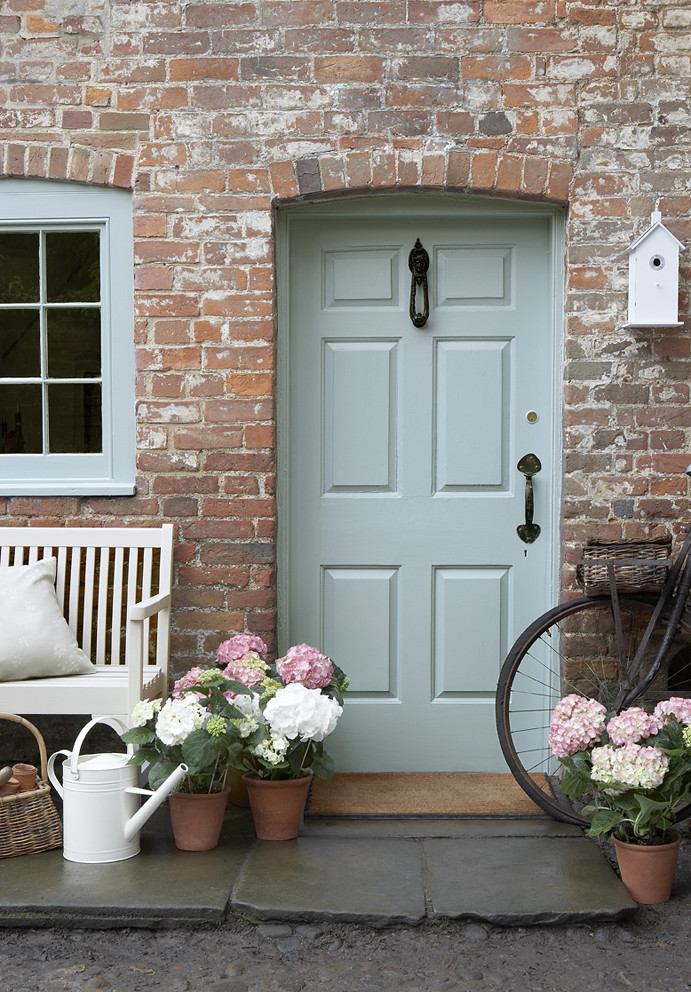 Country chic front door front door using our eco for Exterior door companies
