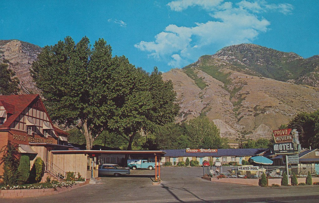 Provo Western Motel & Apartments - Provo, Utah