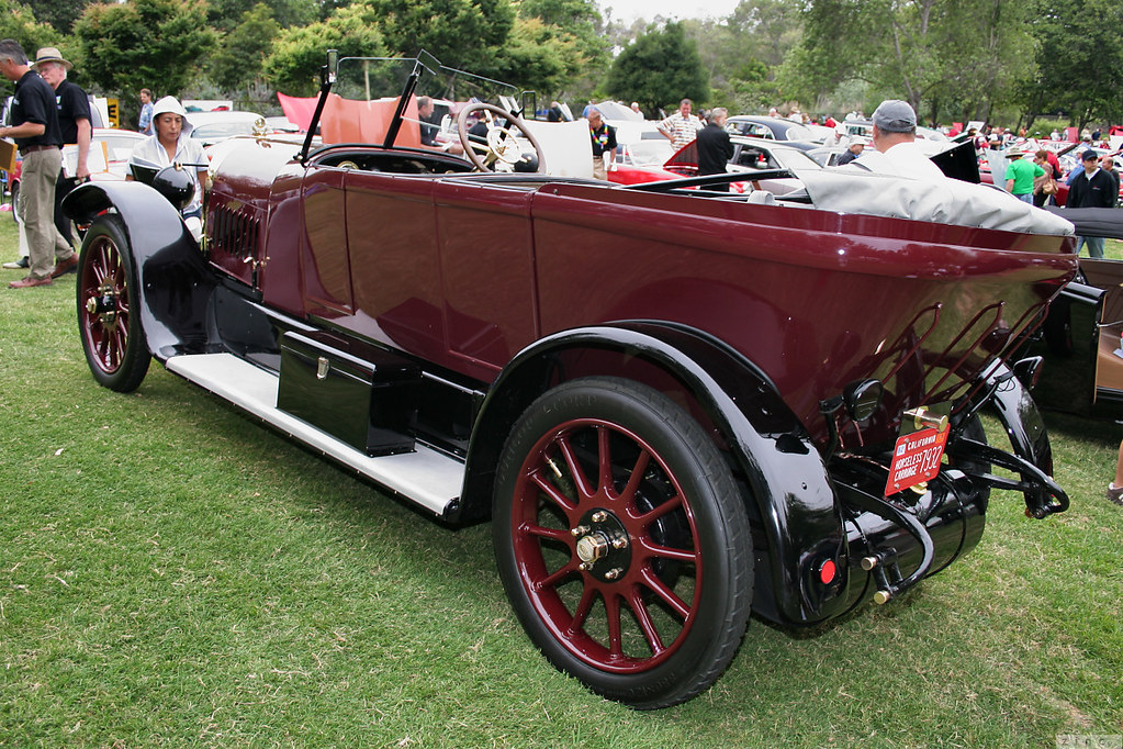 1918 opel 14 38 dual cowl phaeton maroon black rvl. Black Bedroom Furniture Sets. Home Design Ideas