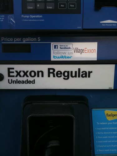 Does your doctor office have this sign? This gas station does #hcsm | by NickDawson
