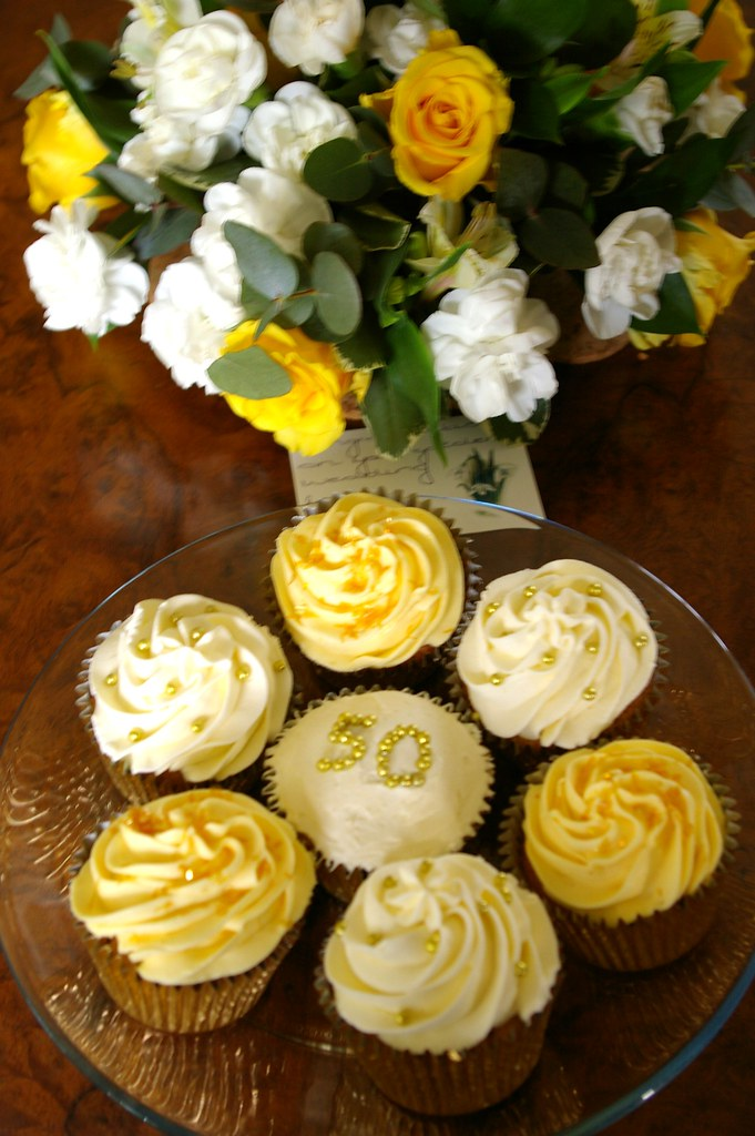 "50TH WEDDING ANNIVERSARY | Yummy Cupcakes by Viv at ""The ..."
