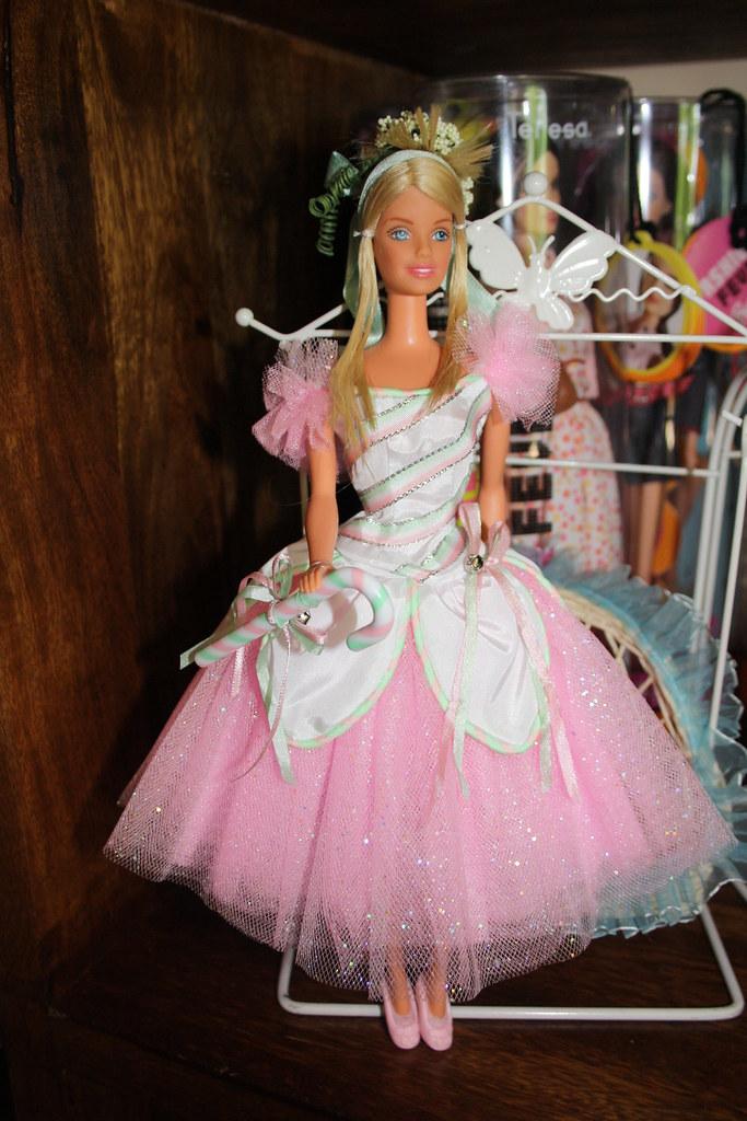 ballerina barbie non proprio una ooak ma una semplice. Black Bedroom Furniture Sets. Home Design Ideas
