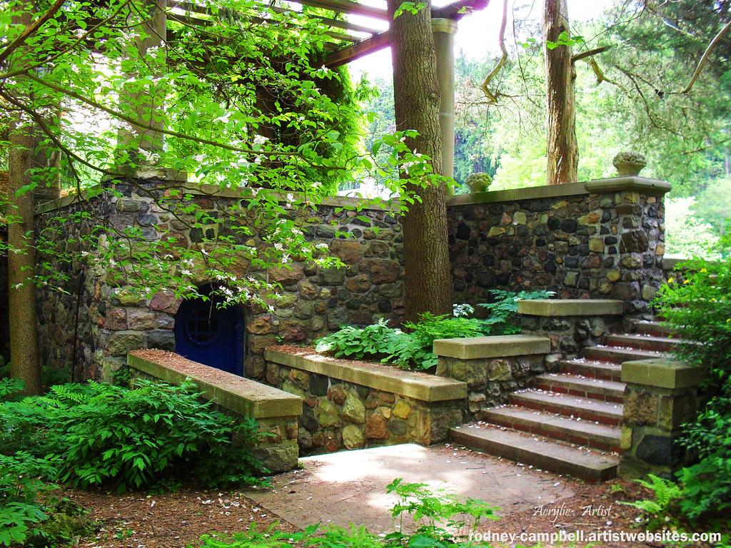 Entrance to Sunken Gardens | Entrance to sunken gardens on t… | Flickr