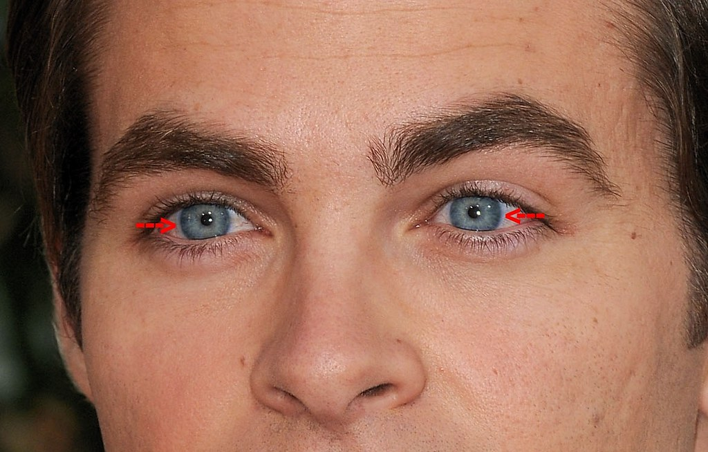 Chris Pine 13 On This Close Up The Edges Of His