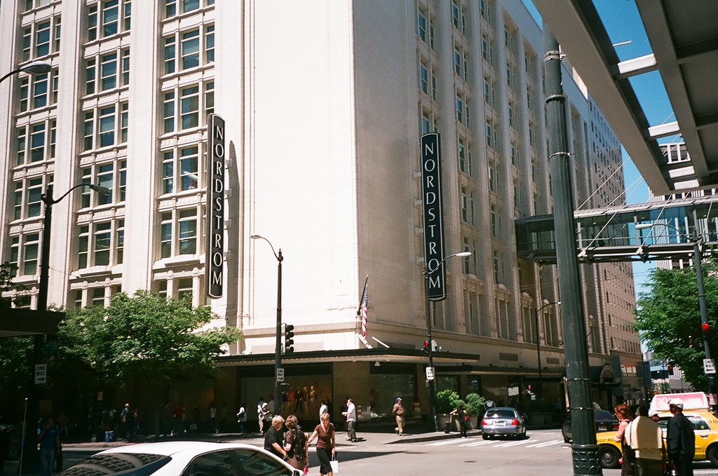 Range The Seattle Store ~ Nordstrom downtown seattle flagship store sq feet w