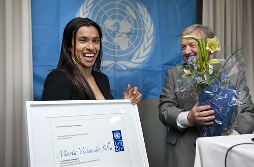 Marta Vieira da Silva, UNDP Goodwill Ambassador | by United Nations Development Programme