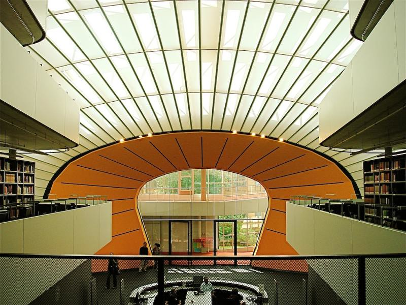 philological library freie universit t berlin germany flickr. Black Bedroom Furniture Sets. Home Design Ideas