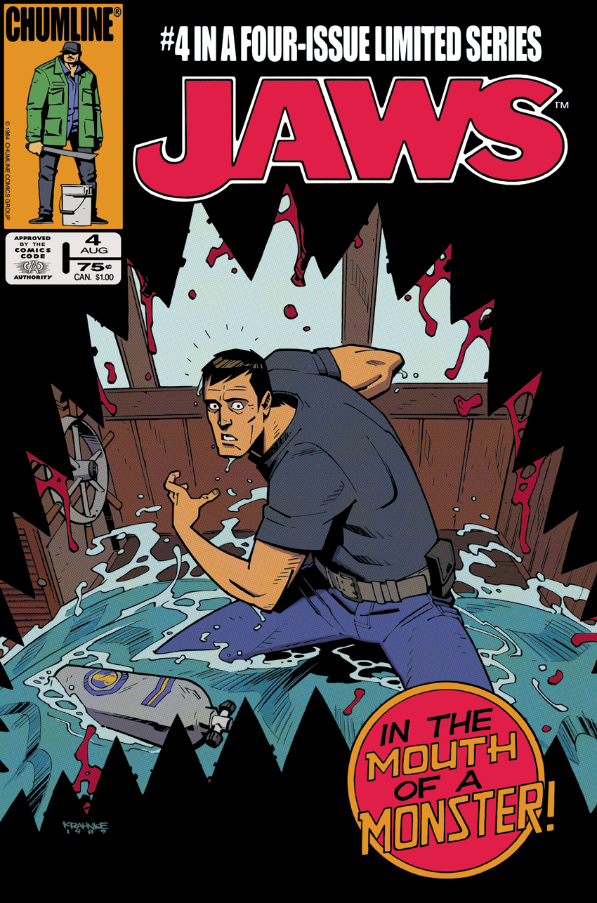 Jaws Book Cover Art : The chumline jaws comic pages