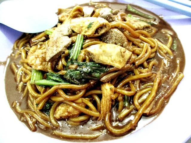 Kedai Kopi Sibu Foochow fried noodles, special