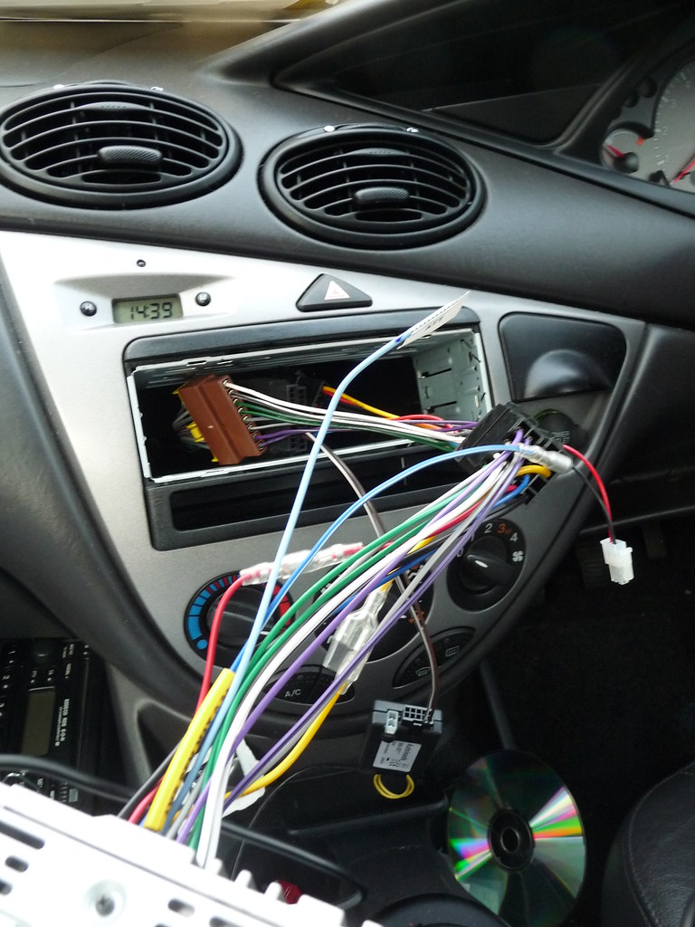 changing ford focus car radio to sony mex bt3700u tim bee flickr