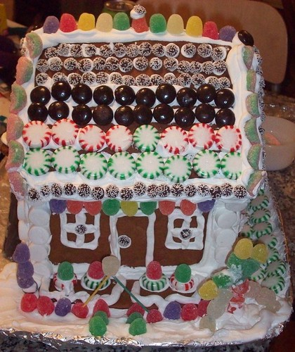 Gluten-Free Gingerbread house | by mia3mom