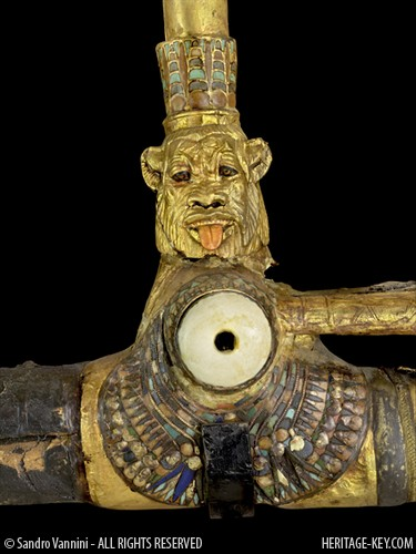 The God Bes On King Tut S Chariot Visit Heritage Key To