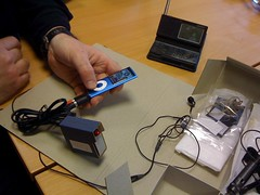 Testing via iPod and Sony ICF-SW100E | by carrierdetect