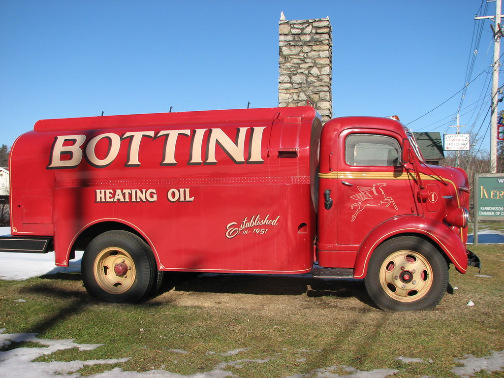 A 1941 Ford Bottini Fuel Truck Jan 2010 Nicely Restored An Flickr Coe By Richie 59