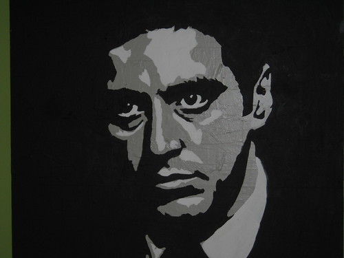 godfather painting by Chewstroke | by chewstroke