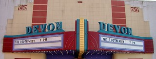 IN, Attica-Devon Theater Marquee | by Alan C of Marion,IN