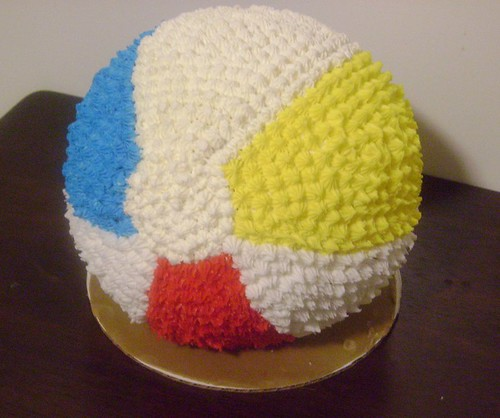 Beach Ball Cake Images