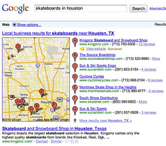 Google Local Sponsored Results | by rustybrick