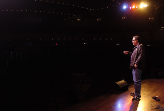 Jeff Garlin checking the City Opera House | by tcfilmfest