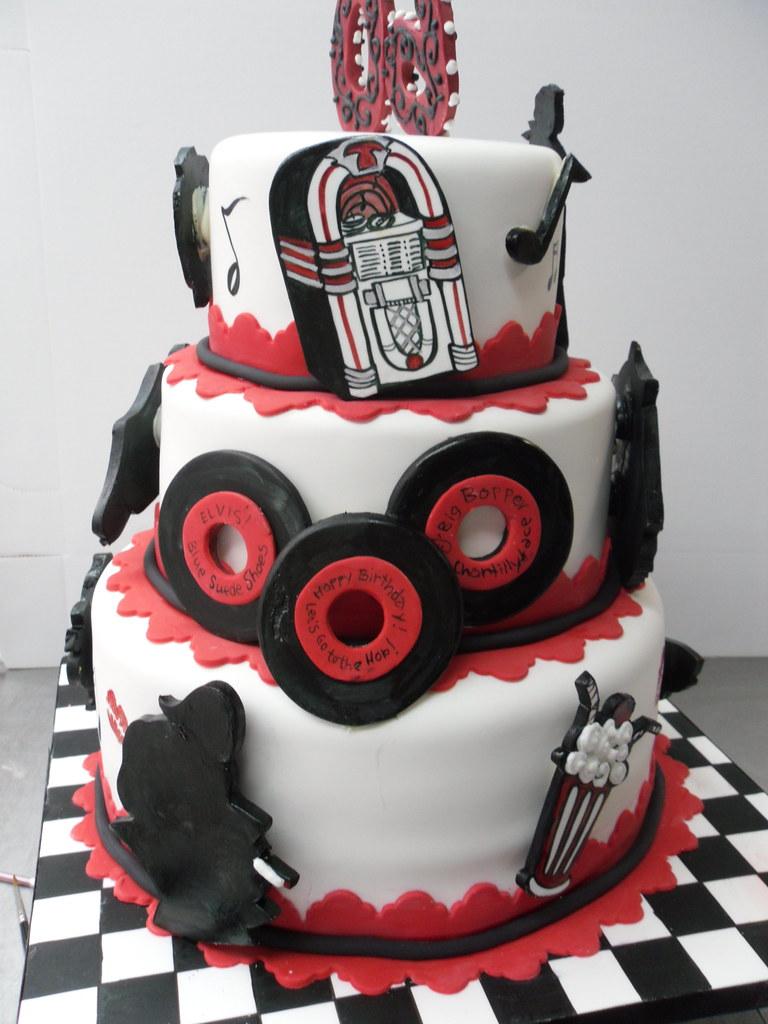 Rock N Roll Cake Designs