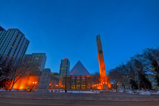 Sir Winston Churchill Square HDR | by mschroeter140