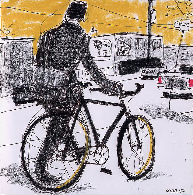 Walking The Fixed Gear Bike Jerry Waese Flickr