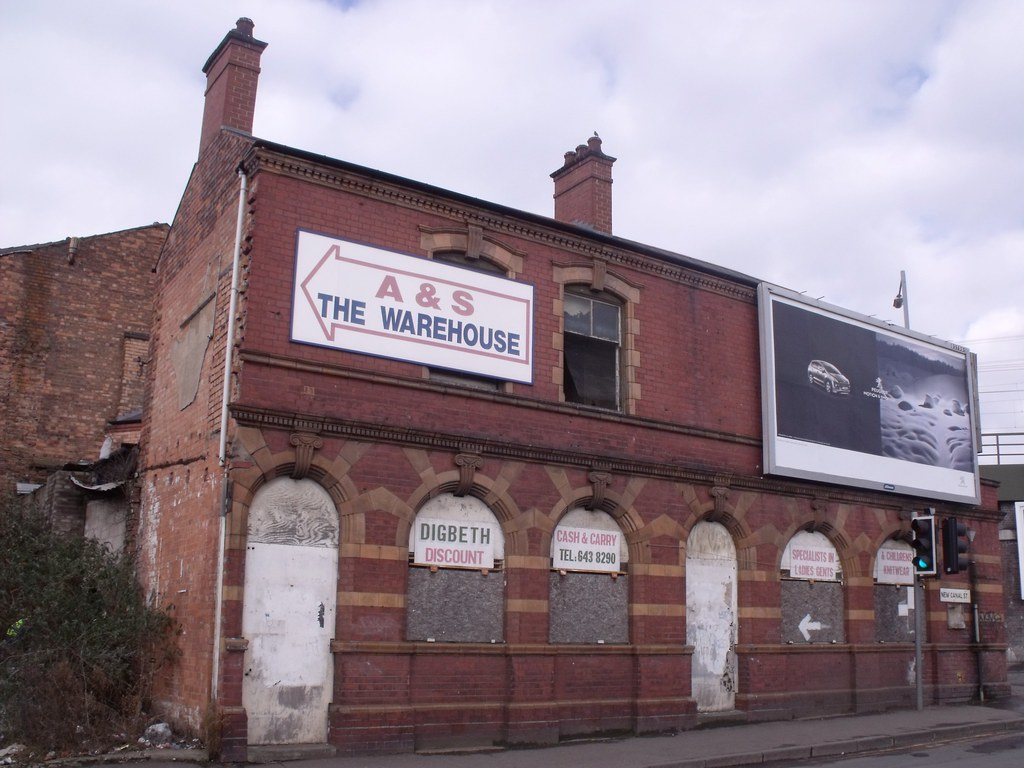 A & S: The Warehouse - New Canal Street, Digbeth (former H ... 3d Warehouse
