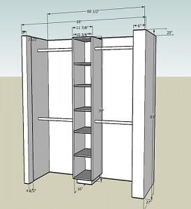Linen Closet Building Plans