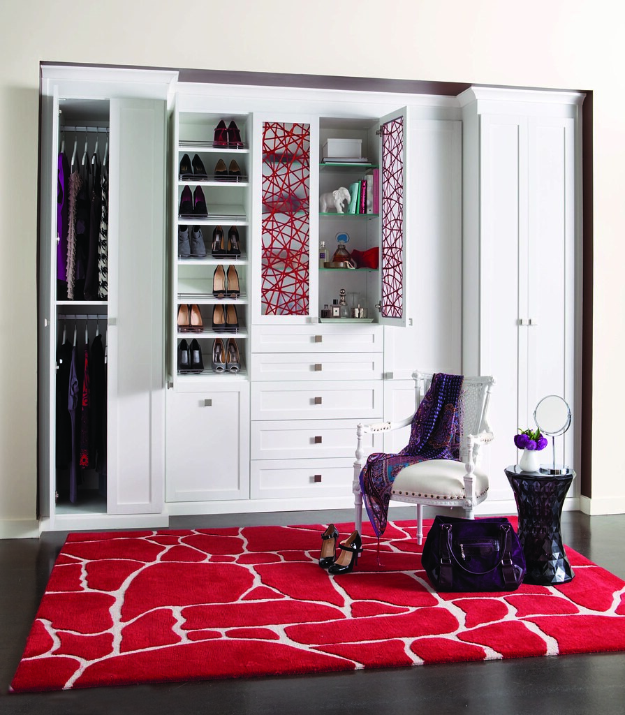 Perfect ... California Closet   Reach In Closet With Raised Panels, Eco Resin Door  Inserts In