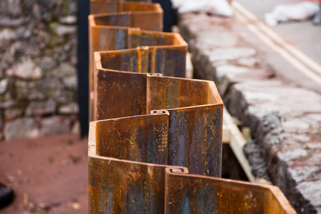 Sheet Pile Wall Neverness Flickr