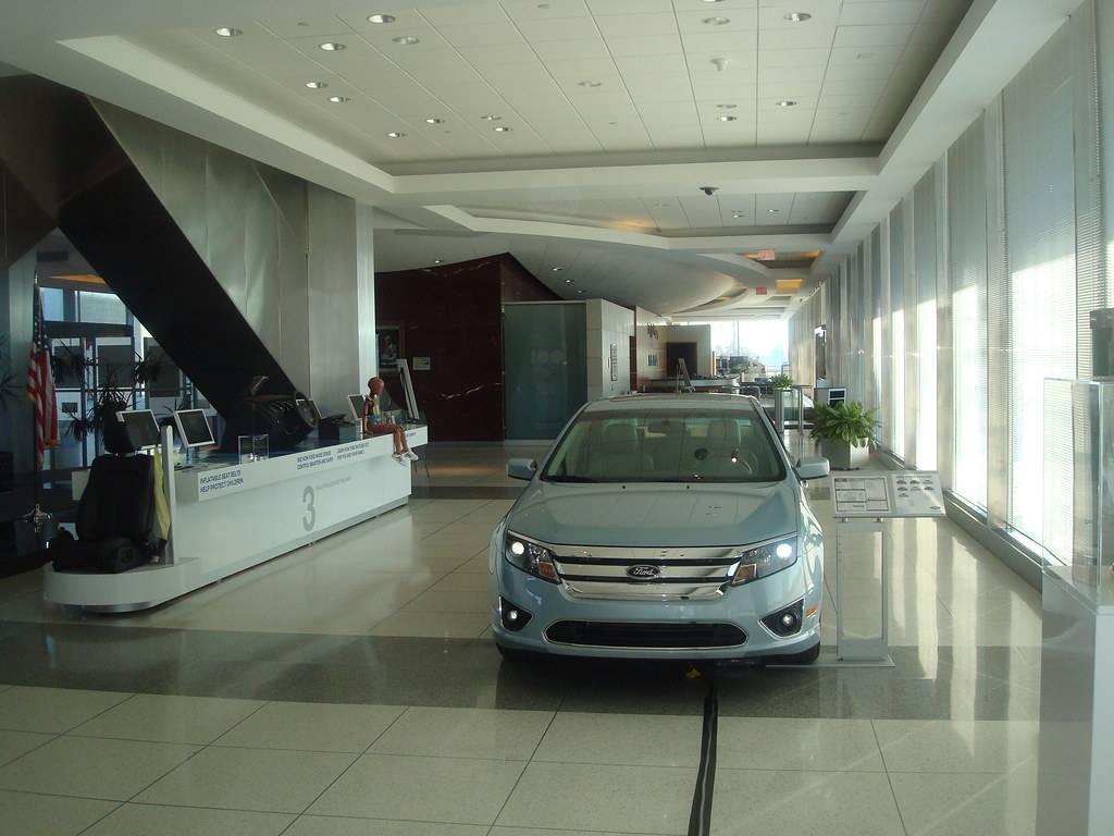Ford motor company world headquarters lobby toprank for Ford motors corporate office