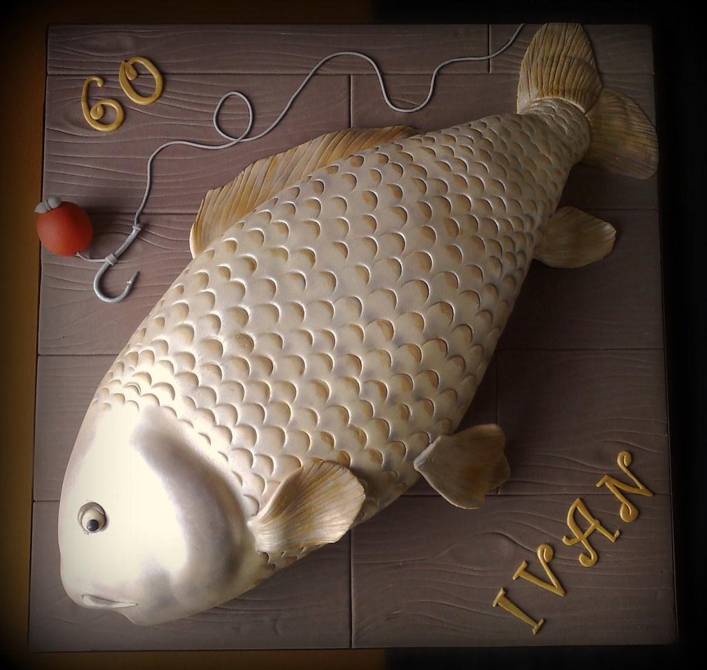 Carp fish cake made explore i was asked to make a cake for How to make fish