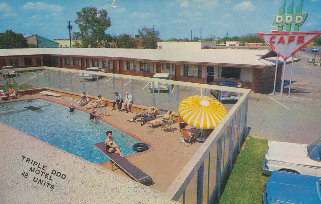 Triple DDD Motel - Wichita Falls, Texas