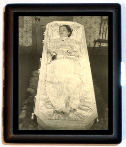 Dead Woman post mortem in Coffin Case | Truman Daley ...
