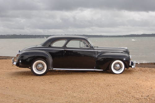 1941 Chrysler Windsor Club Coupe C28 Highlander Car And