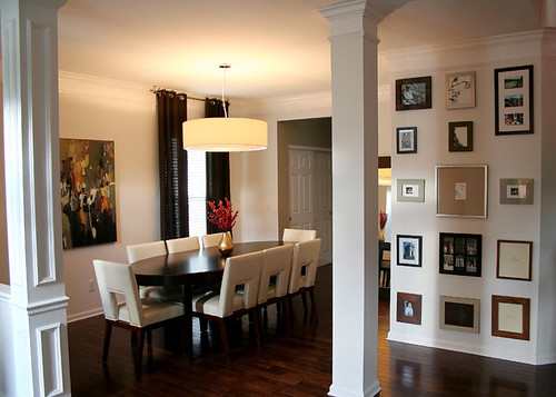 Dining room in brentwood tennessee by cke interior design for Dining near brentwood tn