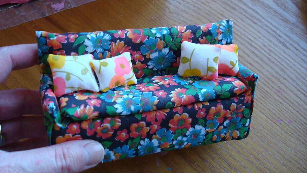 dollhouse sofa mini tutorial making a sofa for my shoeb flickr. Black Bedroom Furniture Sets. Home Design Ideas