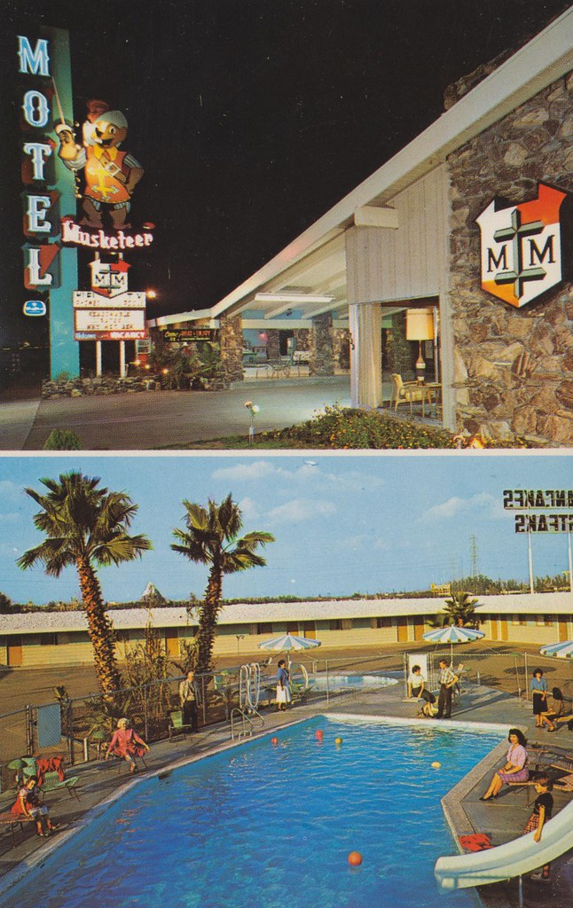 Musketeer Motel - Anaheim, California