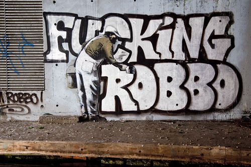 Banksy vs Robbo | by invisiblemadevisible
