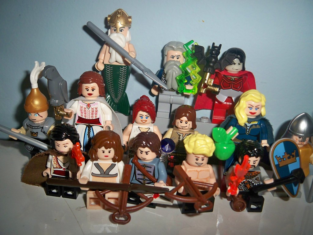 my lego greek gods this is my first flickr post and these u2026 flickr