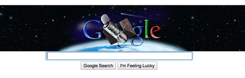 Google Hubble Telescope Doodle | by rustybrick