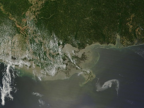 Oil Spill in Gulf of Mexico April 29th View | by NASA Goddard Photo and Video