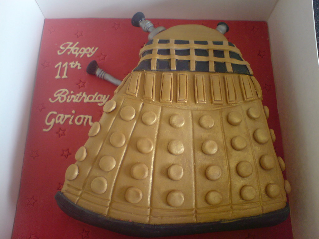 Dalek Doctor Who Birthday Cake For All Those Doctor Who F Flickr