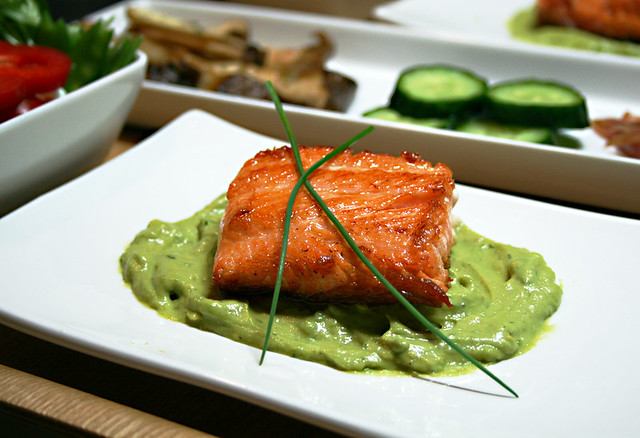 Salmon with Dill Avocado Remoulade | The local store had ...