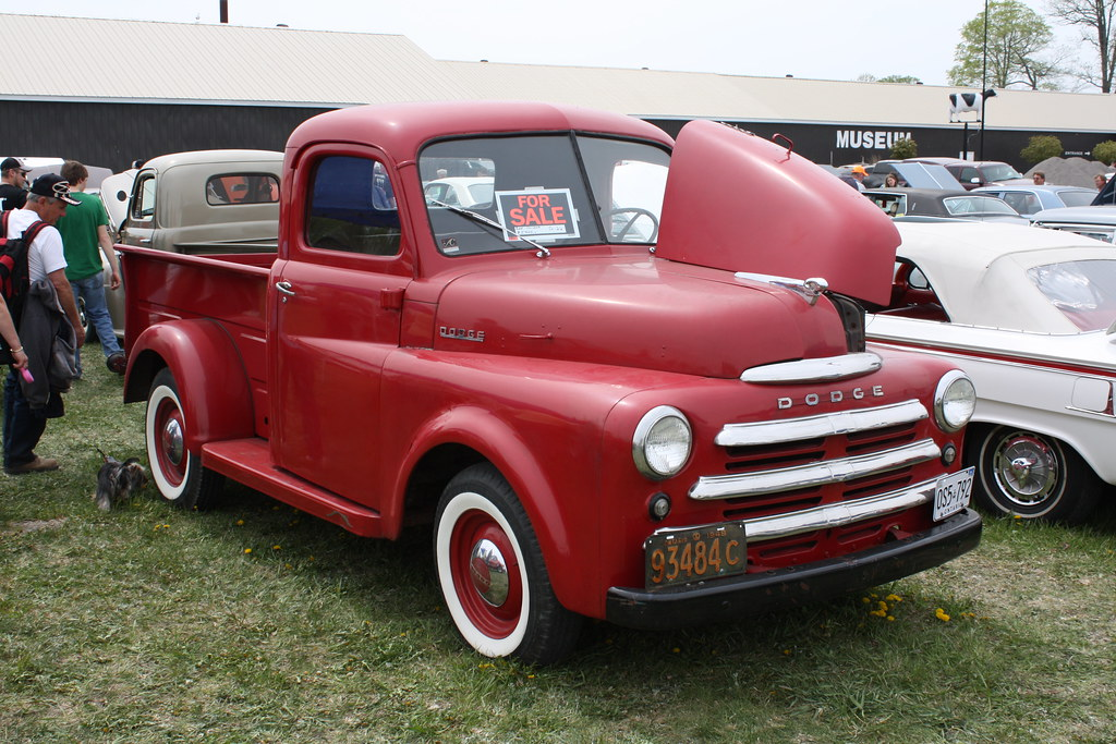 1948 Dodge B 1 B Pickup Richard Spiegelman Flickr