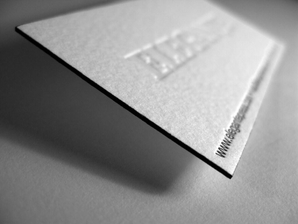 Elegante Press business card | Elegant Elegante Press busine… | Flickr