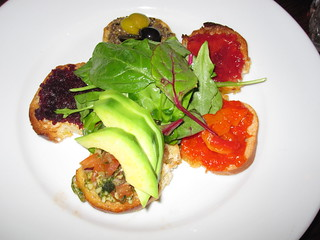Bruschettas Selection | by veganbackpacker