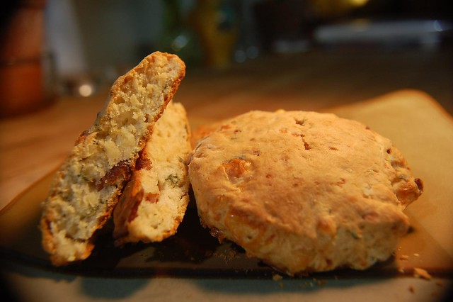White Cheddar, Sage, & Bacon Biscuits | Flickr - Photo Sharing!