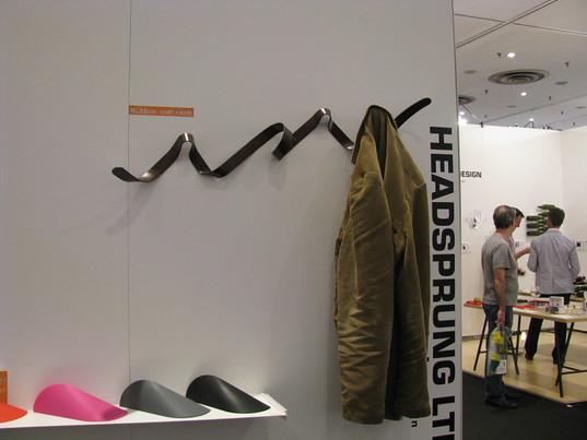 by Inhabitat Ribbon Coat Rack by Head Sprung!   by Inhabitat